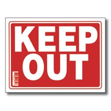 Keep Out Sign (Set of 24)