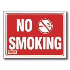 No Smoking Sign (Set of 24)