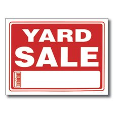 Yard Sale Sign (Set of 24)