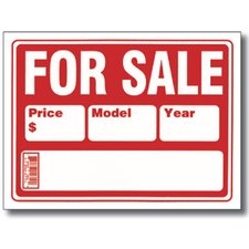 2-Line For Sale Sign (Set of 24)