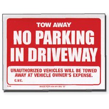 Tow Away Sign (Set of 24)