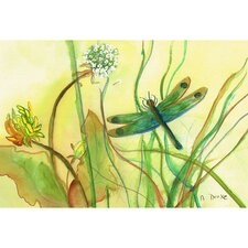Coastal Dragonfly Door Mat