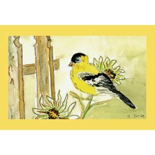 Garden Goldfinch Door Mat