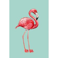Flamingo Vertical Flag