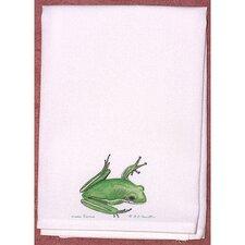 Garden Green Tree Frog Hand Towel (Set of 2)