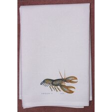 <strong>Betsy Drake Interiors</strong> Coastal Lobster Hand Towel