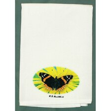 Butterfly Admiral Hand Towel (Set of 2)