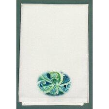 Coastal Octopus Hand Towel (Set of 2)