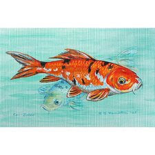 <strong>Betsy Drake Interiors</strong> Garden Koi Outdoor Wall Hanging