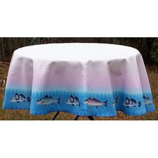 Assorted Fish Round Tablecloth