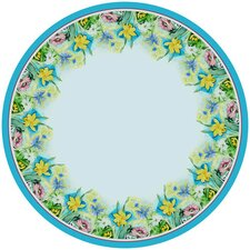 <strong>Betsy Drake Interiors</strong> Florals Round Tablecloth