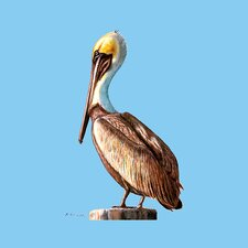 <strong>Betsy Drake Interiors</strong> Pelican Coaster (Set of 4)