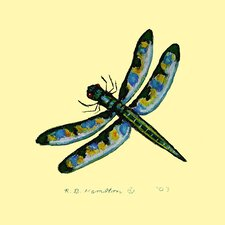 <strong>Betsy Drake Interiors</strong> Dragonfly Coaster (Set of 4)
