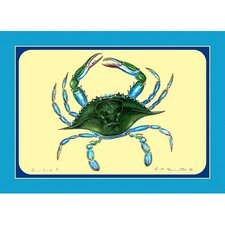 <strong>Betsy Drake Interiors</strong> Female Blue Crab Place Mat (Set of 4)