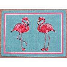 Pink Flamingo Placemat (Set of 4)