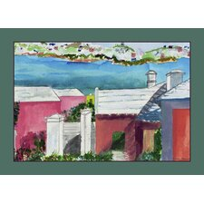 <strong>Betsy Drake Interiors</strong> Roof Tops Place Mat (Set of 4)