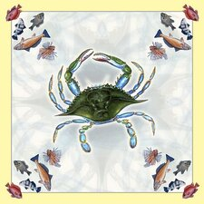 Female Crab Square Tablecloth