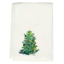 <strong>Betsy Drake Interiors</strong> Holiday Christmas Tree Hand Towel