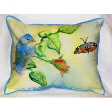 <strong>Betsy Drake Interiors</strong> Garden Bird Indoor / Outdoor Pillow