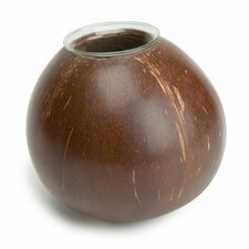 Coconut Shell Tealight Votive