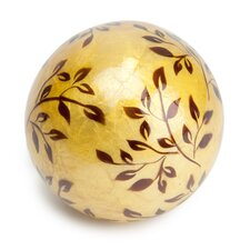 Capiz New Vine Decorative Ball (Set of 2)