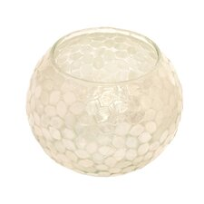 <strong>Dekorasyon Gifts & Decor</strong> Small Capiz Mosaic Fish Bowl Votive (Set of 2)