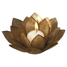 Capiz Lotus Candleholder (Set of 2)