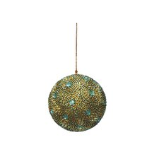 <strong>Dekorasyon Gifts & Decor</strong> Twirl Ball Ornaments (Set of 2)