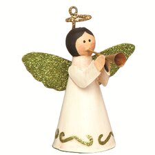 Cone Angel with Wings Ornaments (Set of 2)