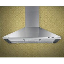 "36"" 600 CFM Chimney Wall Hood"