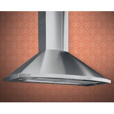"36"" 600 CFM Designer Chimney Wall Hood"