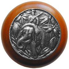 "<strong>Notting Hill</strong> All Creatures 1.5"" Round Knob"