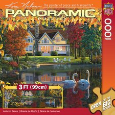 Autumn Grace Panoramic Puzzle