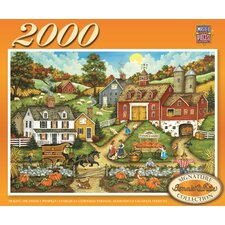 Bonnie White Picking the Perfect Pumpkin 2000 Piece Jigsaw Puzzle