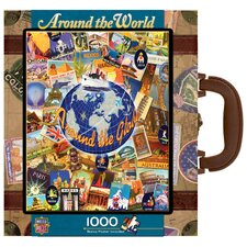 Kate Ward Thacker Around The World 1000 Piece Jigsaw Puzzle