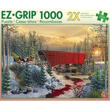 Randy Earles Crossing Cedar Creek 1000 Piece Jigsaw Puzzle