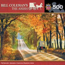 Bill Coleman Fall Splendor 500 Piece Jigsaw Puzzle