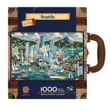 Eric Dowdle Seattle 1000 Piece Jigsaw Puzzle
