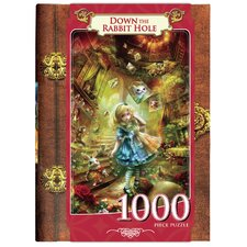 <strong>MasterPieces</strong> Shu Down the Rabbit Hole 1000 Piece Jigsaw Puzzle