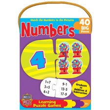 Numbers Game 40 Piece Jigsaw Puzzle