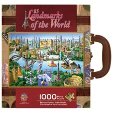 Adrian Chesterman Landmarks of the World 1000 Piece Jigsaw Puzzle