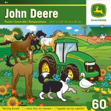 John Deere Horsing Around 60 Piece Jigsaw Puzzle