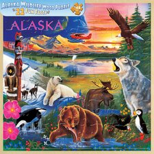 Alaska Wildlife 48 Piece Jigsaw Puzzle