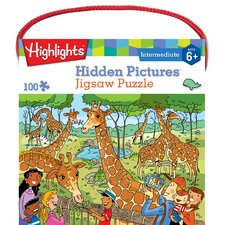 Highlights Hidden Pictures 100 Piece Jigsaw Puzzle