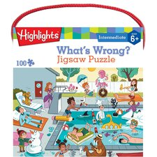 Highlights What's Wrong! 100 Piece Jigsaw Puzzle
