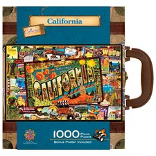 Kate Ward Thacker California 1000 Piece Jigsaw Puzzle