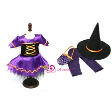 "Hocus Pocus Witch Costume for 18"" American Girl Doll"