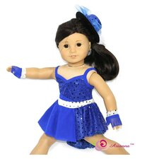 "Take Five Jazz Doll Outfit for 18"" American Girl Doll"