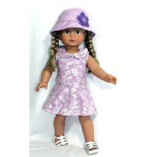 "<strong>Arianna</strong> Lacey Outfit for 18"" American Girl Doll"