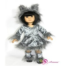 "<strong>Arianna</strong> Big Bad Wolf Fits 18"" American Girl Doll"